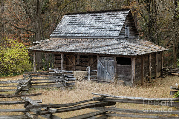 Colonial Art Print featuring the photograph Backcountry Farm by John Greim