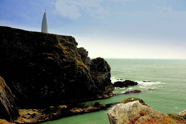 Landscape Art Print featuring the photograph Baltimore Beacon by Ann O Connell