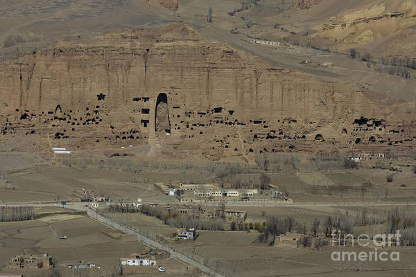 Bamiyan Art Print featuring the photograph Bamiyan's Empty Alcoves by Tim Grams