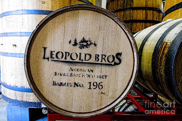New Belgium Brewery Art Print featuring the photograph Barrel No.196 by Keith Ducker