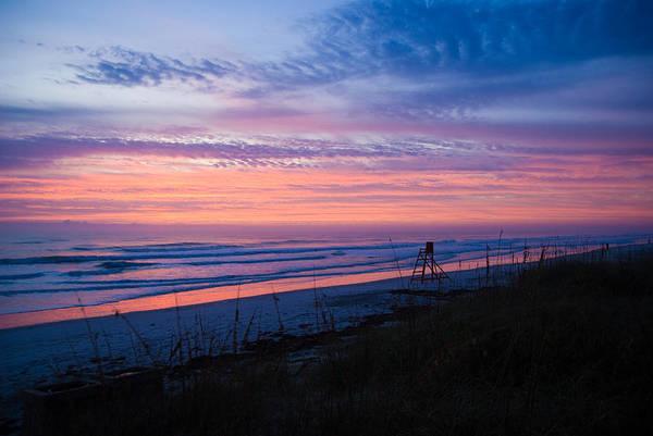 Sunrise Art Print featuring the photograph Beach Sunrise by Patrick Flynn