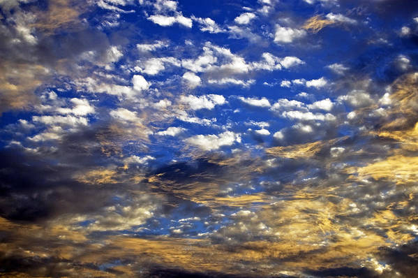 Sky Art Print featuring the photograph Beautiful Anger by Kristen Vota