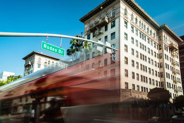 America Art Print featuring the photograph Beveryly Hills Two by Josh Whalen