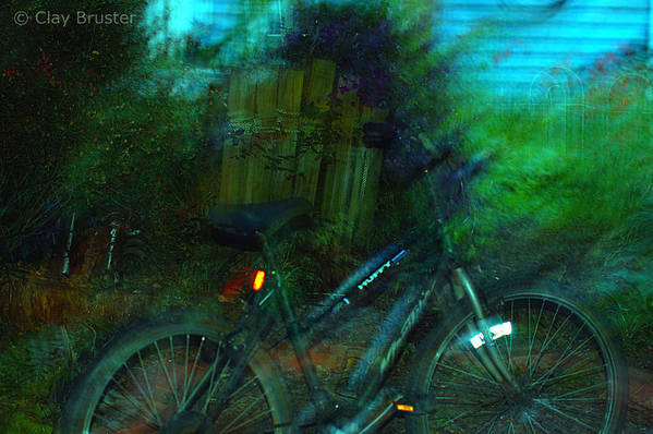 Clay Art Print featuring the photograph Bicycle by Clayton Bruster