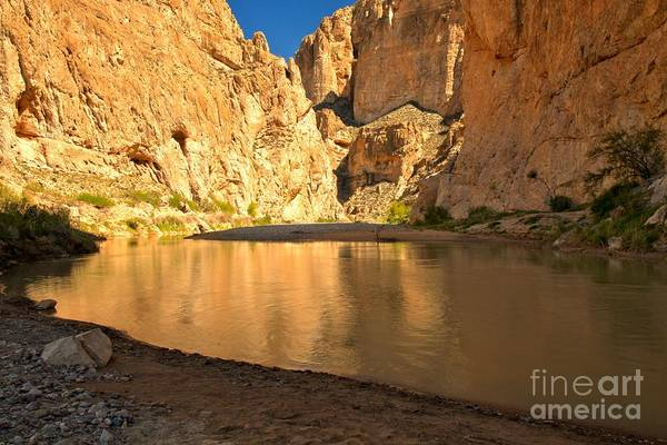 Boquillas Canyon Art Print featuring the photograph Big Bend Boquillas Canyon by Adam Jewell