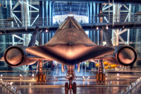 Sr-71 Art Print featuring the photograph Blackbird by Mitch Cat