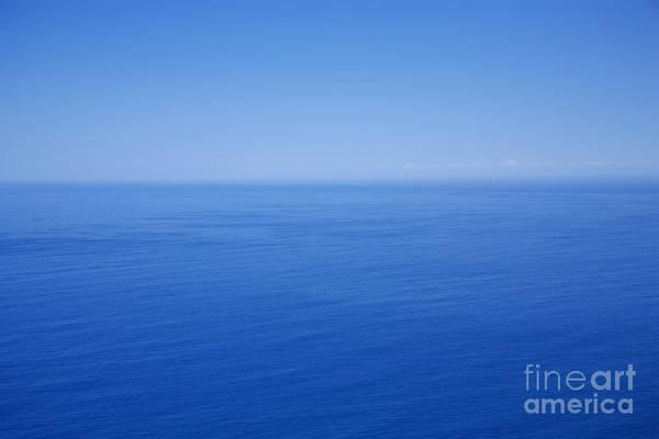 Tranquility Art Print featuring the photograph Blue Horizon by Gaspar Avila
