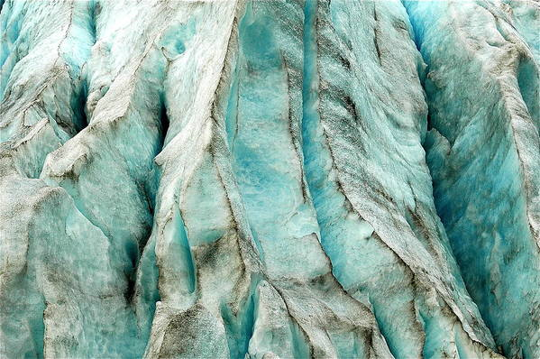 Landscape Art Print featuring the photograph Blue Ice by Mark Lemon