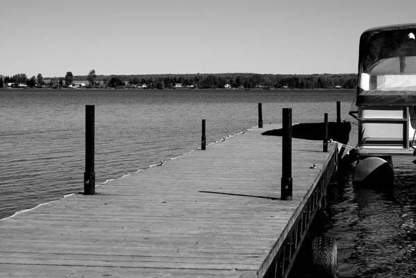 Lake Art Print featuring the photograph Boat Landing by Lisa Hebert