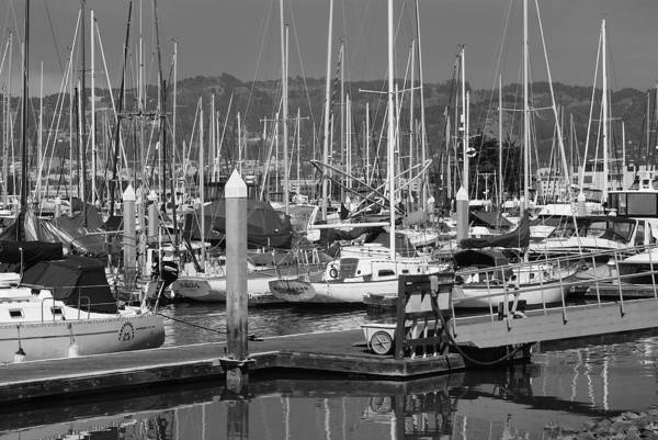 Boats Art Print featuring the photograph Boats At The Bay by Brian Anderson
