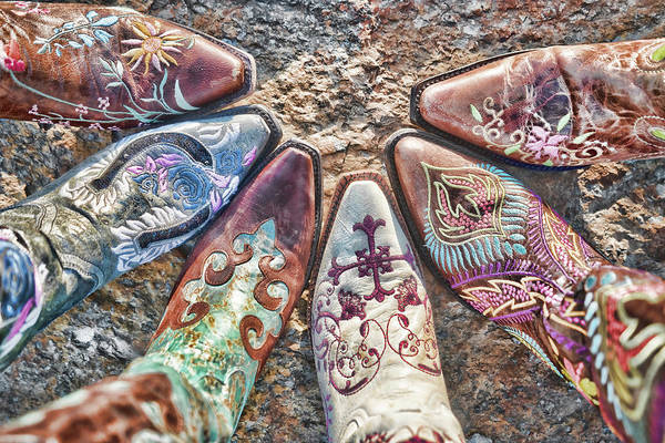 Boot Art Print featuring the photograph Boot Fan by Sharon Popek
