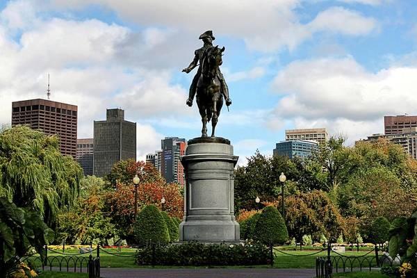Boston Art Print featuring the photograph Boston Common by DJ Florek