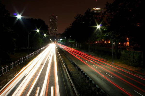 Boston Art Print featuring the photograph Boston Highway by Jason Hochman