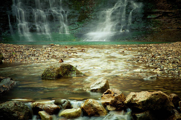 Landscape Art Print featuring the photograph Break Of Silence by Iris Greenwell