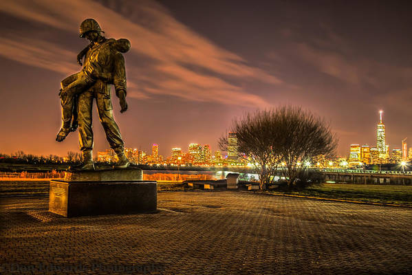 Liberty State Park Art Print featuring the photograph Brothers In Arms by Don Edwards