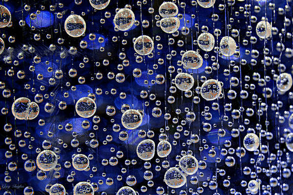 Bubbles Art Print featuring the photograph Bubble Baubles by Greg Taylor