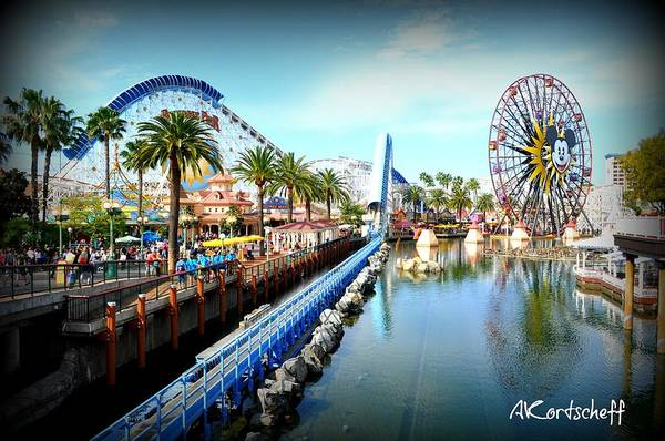 Art Print featuring the photograph California Adventure by Anatole Kortscheff