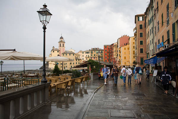 Italy Art Print featuring the photograph Camogli 3 by Luigi Barbano BARBANO LLC
