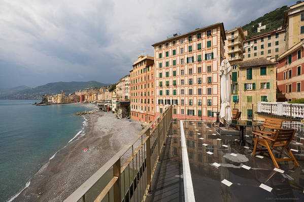 Italy Art Print featuring the photograph Camogli 4 by Luigi Barbano BARBANO LLC