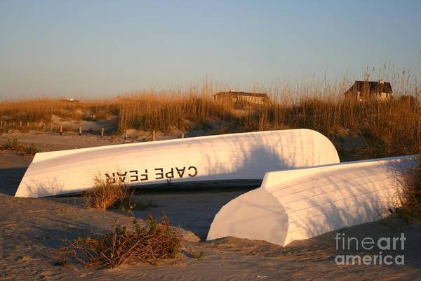 Boats Art Print featuring the photograph Cape Fear Boats by Nadine Rippelmeyer