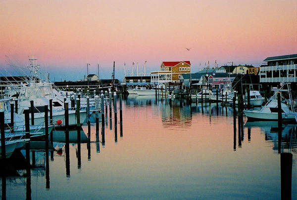 Cape May Art Print featuring the photograph Cape May After Glow by Steve Karol