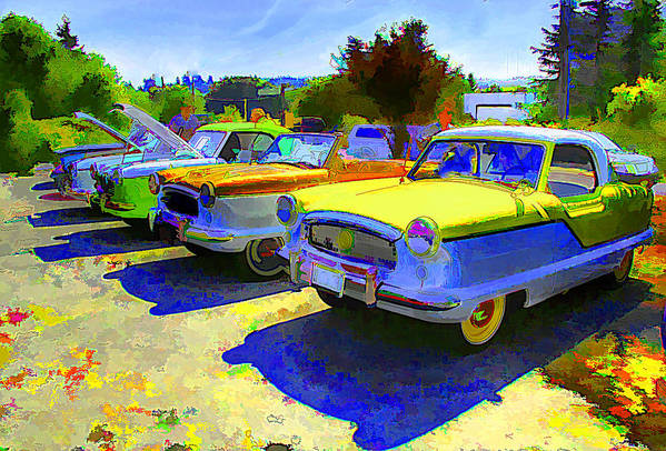 Car Art Print featuring the photograph Car Show by Josh Manwaring