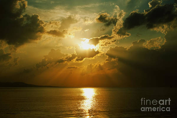 Sunset Art Print featuring the photograph Carpe Diem by Andrew Paranavitana