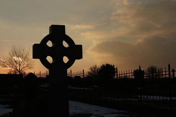 Celtic Art Print featuring the photograph Celtic Cross by Brian Middleton