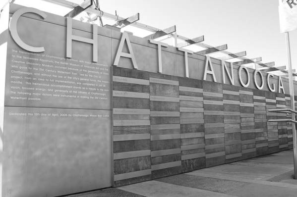 Black And White Art Print featuring the photograph Chattanooga 2 by Jessica Roth