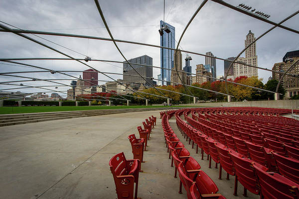Chicago Art Print featuring the photograph Chicago From Pritzker by Mike Burgquist