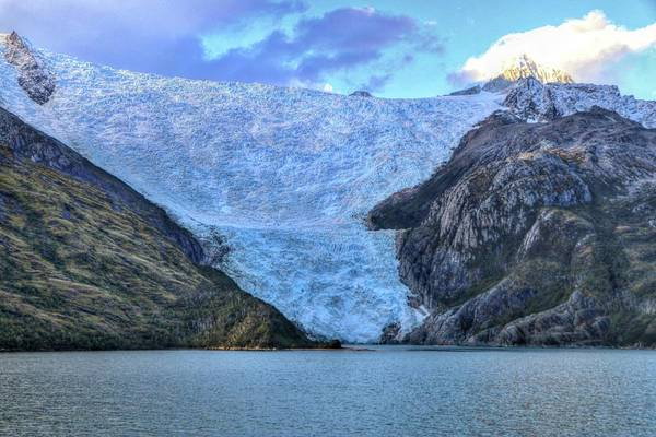 Chilean Fjords Chile Art Print featuring the photograph Chilean Fjords Chile by Paul James Bannerman