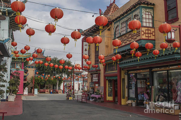 Chinatown Art Print featuring the photograph Chinatown Los Angeles 1 by Kevin McCall