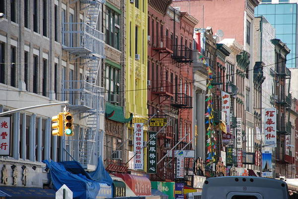 Architecture Art Print featuring the photograph Chinatown Walk Ups by Rob Hans