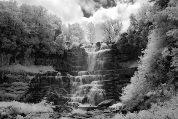 Chittenango Falls Art Print featuring the photograph Chittenango Falls 1 by Mike Kurec