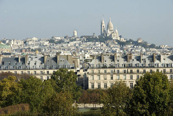 Paris Art Print featuring the photograph City Of Paris by Charles Ridgway