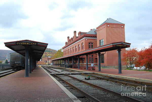 Historic Art Print featuring the photograph Cumberland City Station by Eric Liller