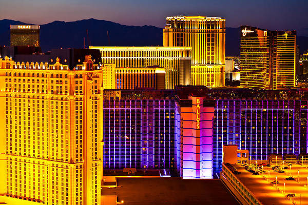 Nevada Art Print featuring the photograph Cityscape by James Marvin Phelps