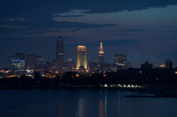 Cleveland Art Print featuring the photograph Cleveland Reflections by Stewart Helberg