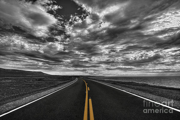 Serge Chriqui Art Print featuring the photograph Clouds Over The Trail 1 by Serge Chriqui