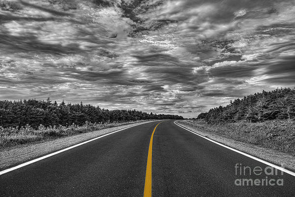 Serge Chriqui Art Print featuring the photograph Clouds Over The Trail 2 by Serge Chriqui