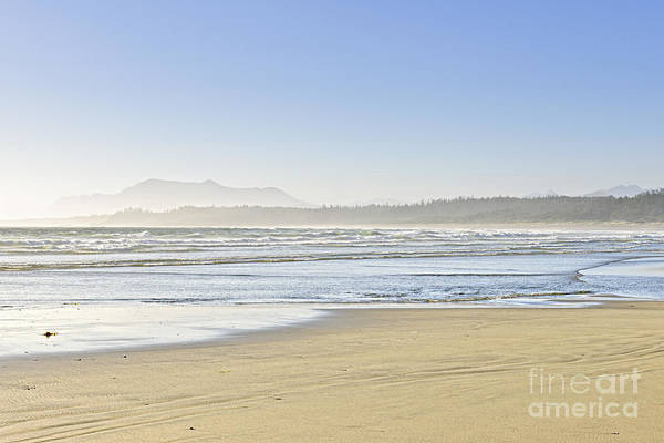 Pacific Art Print featuring the photograph Coast Of Pacific Ocean On Vancouver Island by Elena Elisseeva