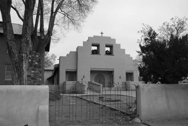 Architecture Art Print featuring the photograph Cochiti Church by Rob Hans