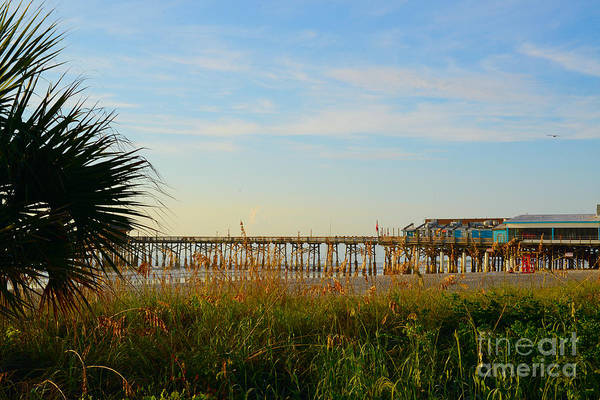 Cocoa Beach Art Print featuring the photograph Cocoa Beach by Timothy OLeary