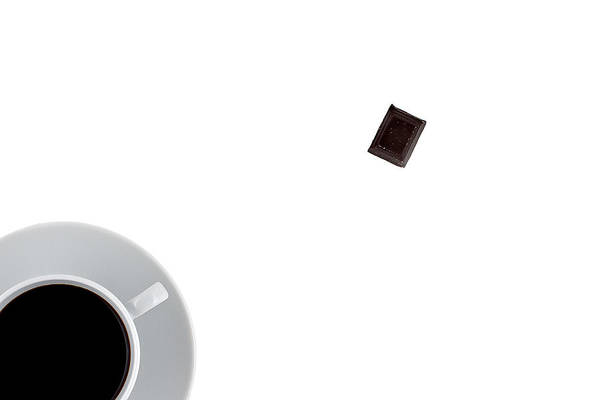 Au Lait Art Print featuring the photograph Coffee And Chocolade by Gert Lavsen