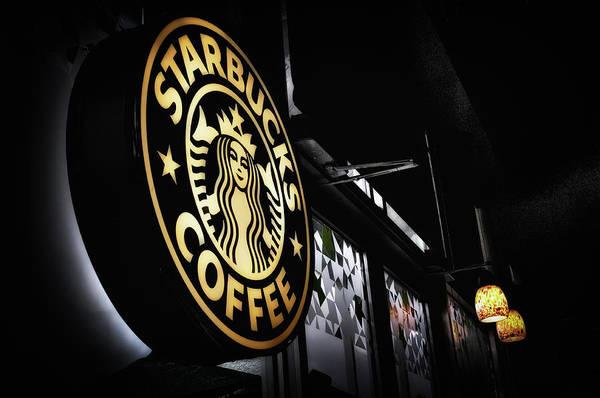 Starbucks Art Print featuring the photograph Coffee Break by Spencer McDonald