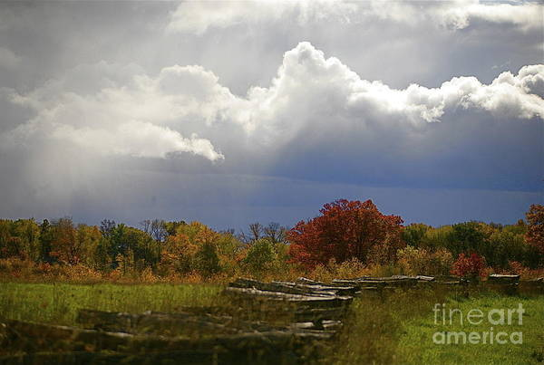 Landscape Art Print featuring the photograph Cold Front by Robert Pearson