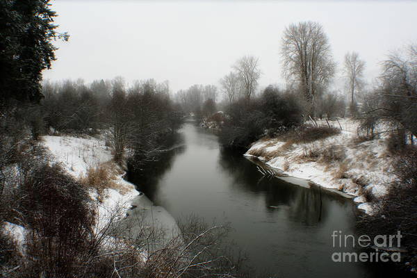 River Art Print featuring the photograph Cold River by Idaho Scenic Images Linda Lantzy