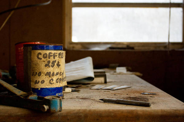 Abandonment Art Print featuring the photograph Collections by Kevin Brett