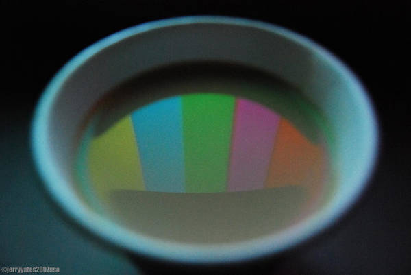 Cup Art Print featuring the photograph Color Bars by Gerard Yates