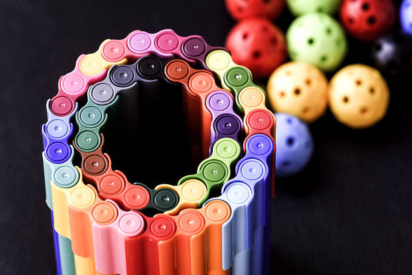 Back To School Art Print featuring the photograph Color Pens2 by Jijo George